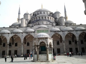 "Sultan Ahmed ""Blue Mosque."""