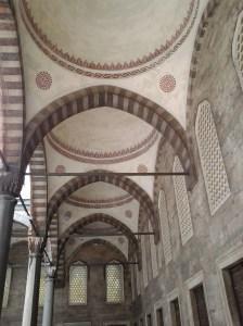 Courtyard of Blue Mosque.