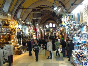 Not all of the Grand Bazaar is inside, but with the weather being quite cold, I choose to mostly stay in the portion which was indoors.