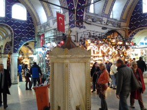 You can easily get lost in the Grand Bazaar, as I did a couple of times.
