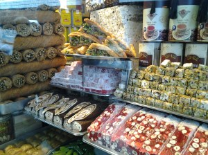Turkish Delight, purveyor of all types of delicious  chocolates and other sweets.