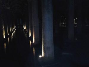 The Basilica Cistern.