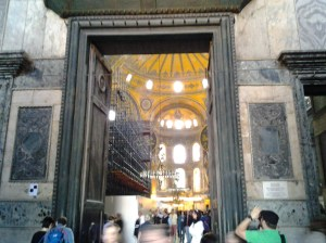 """I am only in the monument entrance """"foyer,"""" but I can see inside and am thinking, """"Oh my God . . . what a magnificent sight."""""""