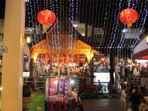 Chiang Mai at night.