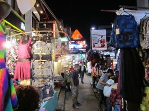 Downtown Chiang Mai.