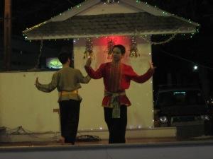 Traditional Thai dancing.