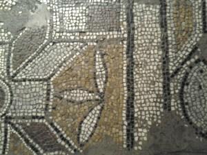 Crypt mosaic floor.