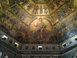 Byzantine depiction of Christ was stunning.