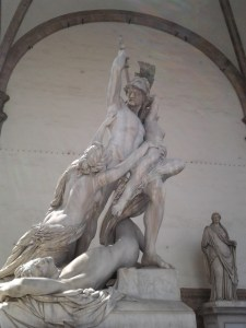 The Rape Of The Sabine Woman.