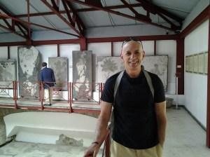 Mosaic Museum in Istanbul, Turkey.