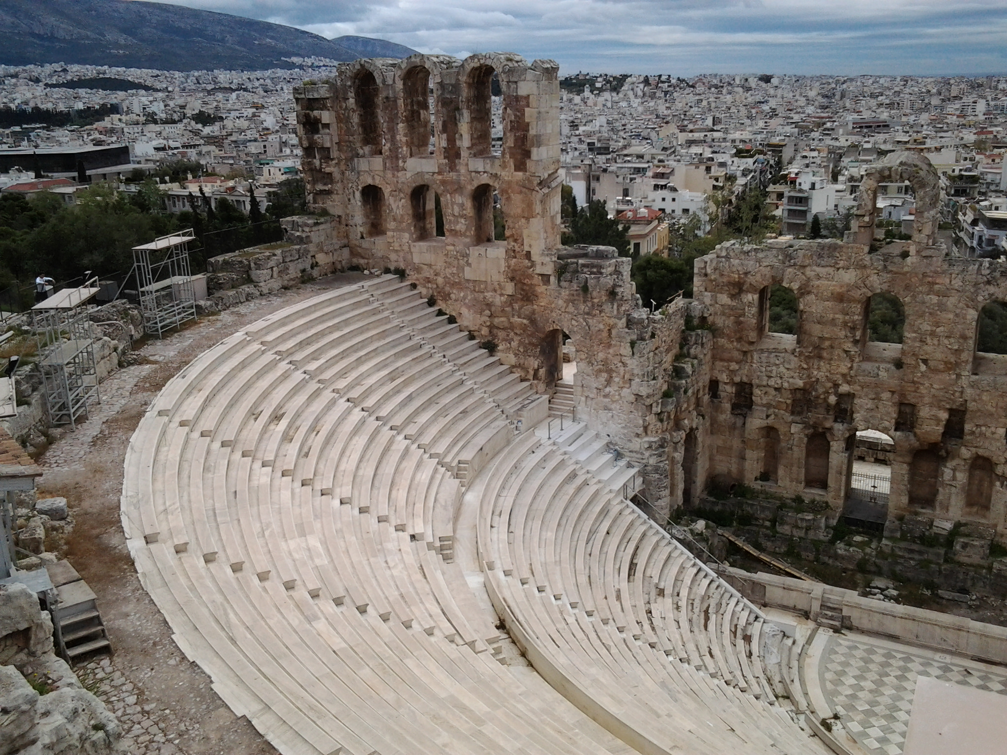 Greece's Acropolis, Ancient Agora, Theater Of Dionysus ...