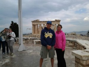 In Athens, Greece.