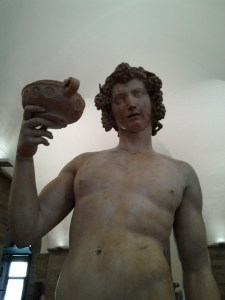 Closeup of Bacchus. Mikey sure did have some talent, huh?