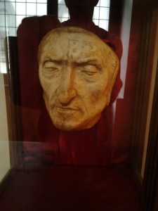 Death mask of Danti.
