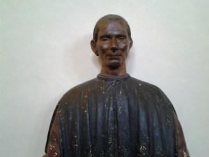 Macchiavelli (sp?), who was the Secretary to the Medici royal court.