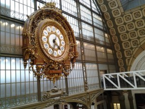 One of at least three giant clocks I spotted inside this museum.