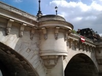 Seine river bridge.