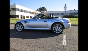 My BMW Z3 M Series would probably get smoked by the Ferrari, but it would hang around a bit with the Porsche. I think. Ha.