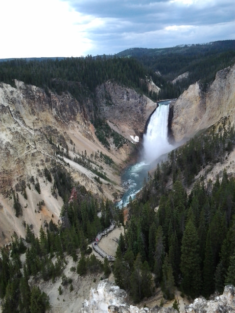 Lower Falls, Yellowstone National Park.