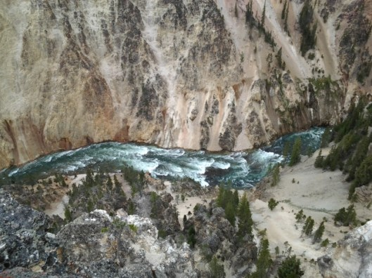 Yellowstone River and Grand Canyon.