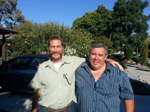 Another two friends of mine that I saw while I was in Sunnyvale, Craig and Jimmy. We went out to lunch and reminisced about old times in high school. Craig now lives in Elk Grove and Jimmy is in Manteca.