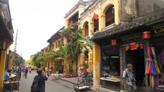Town street.