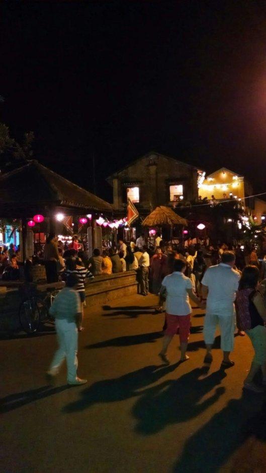 Night life around the town.