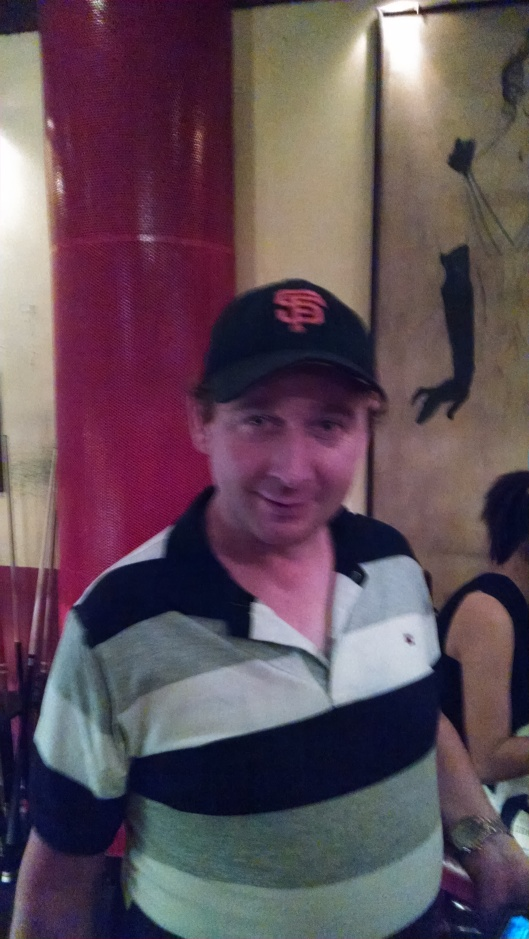 Besides me, probably the only San Francisco Giant fan in all of Vietnam.