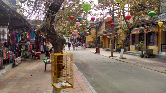 Hoi An down town area during the early morning.