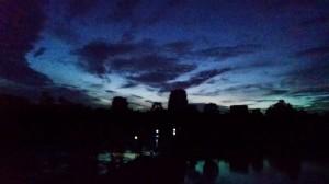 This shot was taken at around 4:45am with my Moto X Smart Phone.