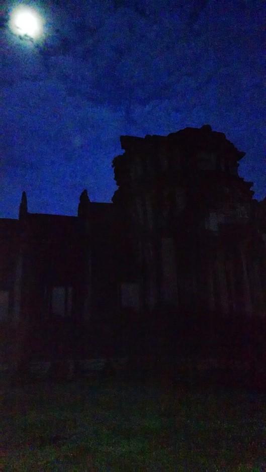 Moon over Angor Wat.
