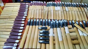 I am not certain what these sticks were? Possibly back scratchers.