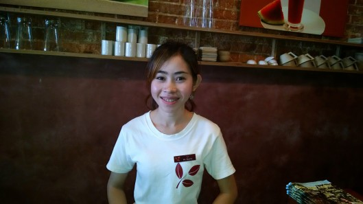 This is Heng, who runs the Kava Coffee Shop in Siem Reap. On my first full day in Cambodia, I went into town to explore (and buy a bathing suit . . . I forgot mine. Duh!). She was very helpful regarding the downtown area.