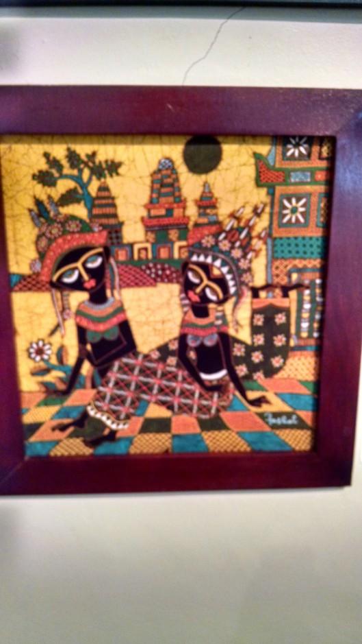 Another beautiful batik painting.