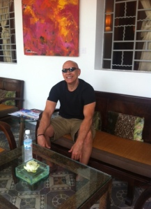 This photo was taken at my hotel, The Plantation, in Phnom Penh. Great place to stay, as I really enjoyed the pool, spa services, and Fashion Show they had during 3 of the days I was there. Very fancy place with reasonable room rates.