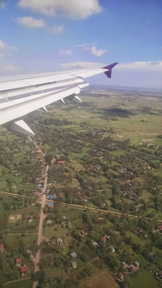 Upon landing, it's obvious that much of the land is undeveloped (a good thing) .