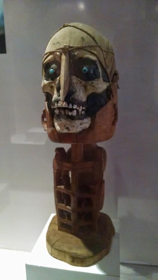 Scary Java islander mask.