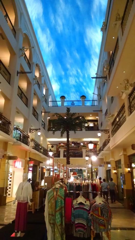 Jakarta has some amazing malls.