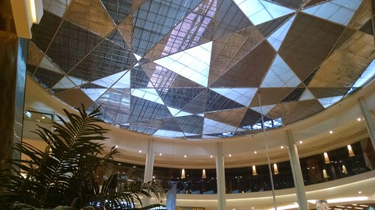 Ceiling of Grand Indonesia Mall.